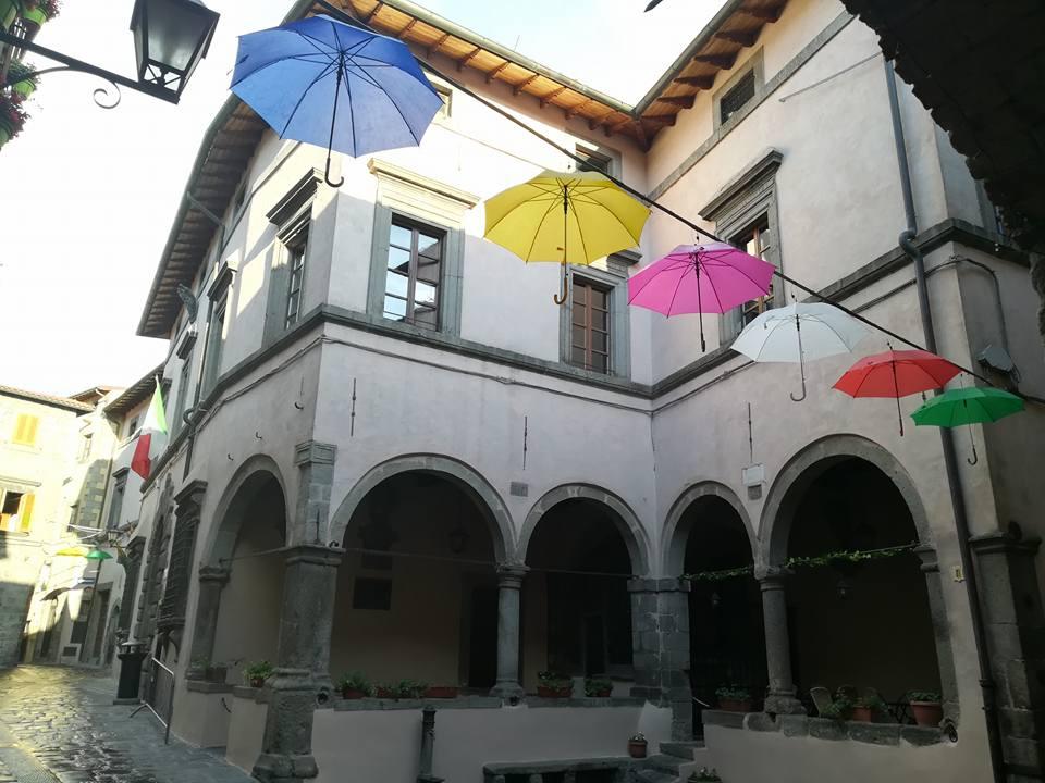 Le logge di Palazzo Nerucci, a Castel del Piano