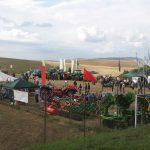 Mezzi agricoli in esposizione durante la fiera