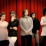 Foto degli attori che partecipano al progetto di residenze artistiche