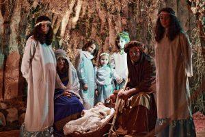 Presepe rappresentazione della Natività