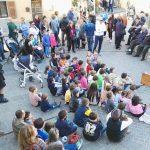 Spettacolo di marionette in piazza
