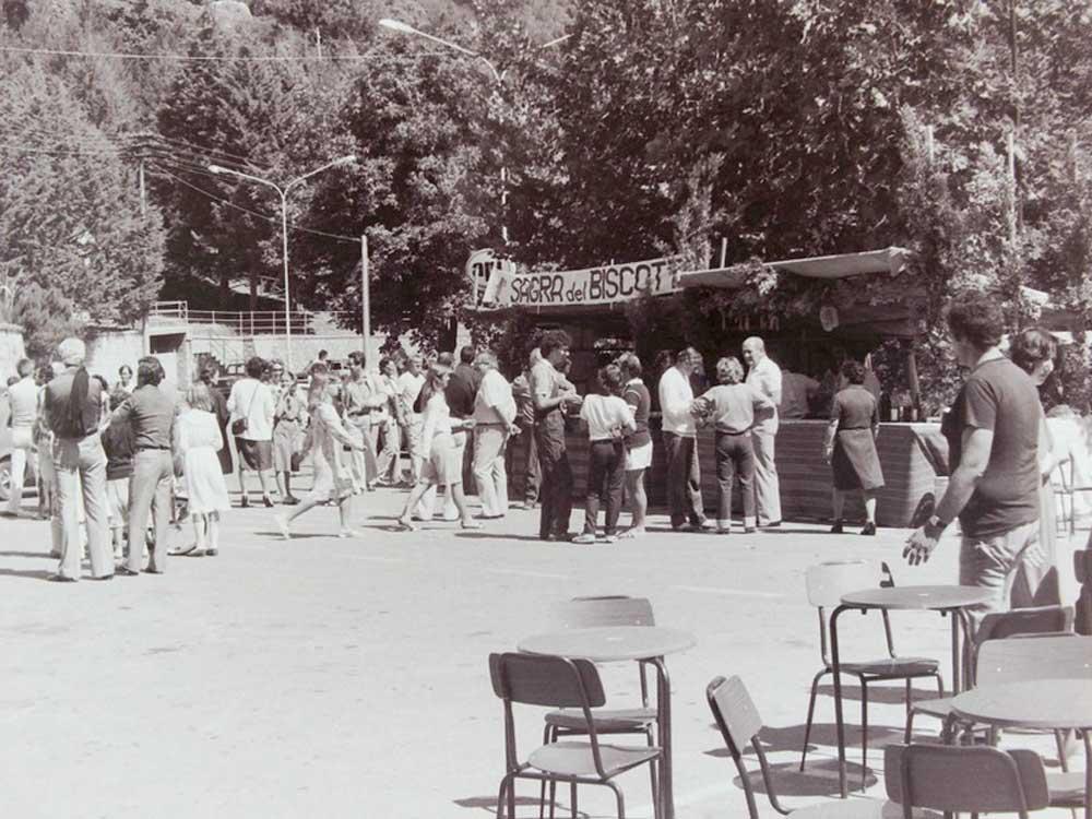 Una vecchia immagine della Sagra
