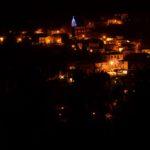 Il borgo di Bagnoli di notte