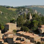 panoramica sul paese Rocchette di Fazio