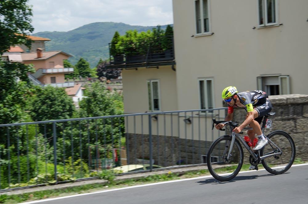 Un ciclista a Santa Fiora