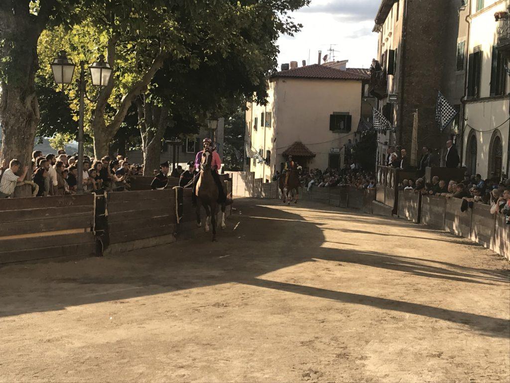 Un cavallo in Piazza