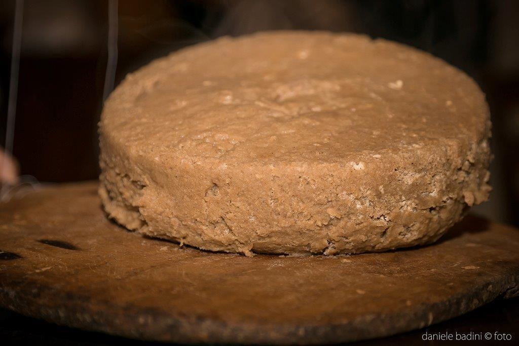 Polenta con farina di castagne