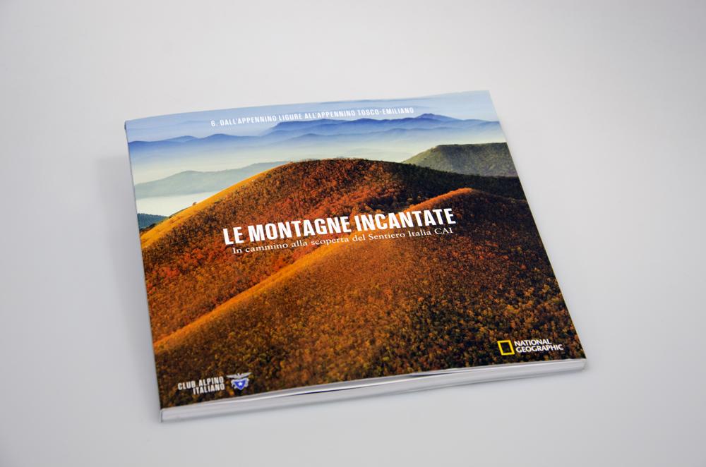 una pagina del volume Le Montagne Incantate